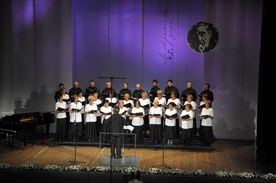 45.Фестивал,   Натпевавање хорова  Хор MusicaHumana, Србија