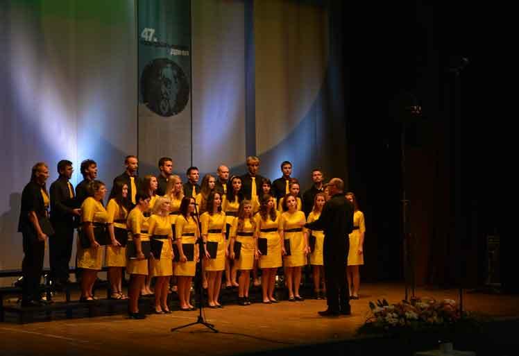 47. Фестивал -  Натпевавање хорова  Хор Мир, Белишће (Хрватска)