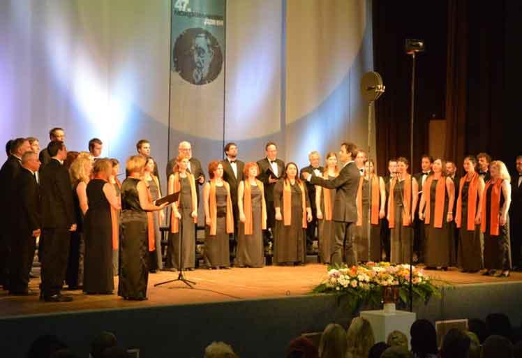 47. Фестивал - Натпевавање хорова  Хор Постојна, Постојна (Словенија)