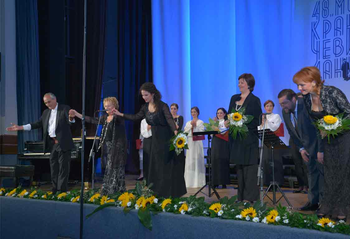 48. Фестивал Концерт поводом 200 година од рођења П.П.Његоша, Црногорски хорски ансамбли